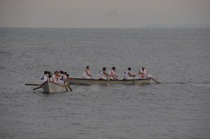 競漕(1回目)に向けて(二船祭)