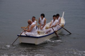 競漕(2回目)に向けて(二船祭)