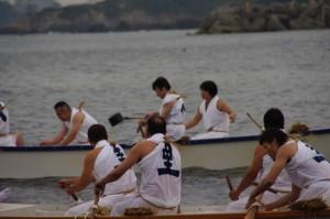 競漕(4回目)に向けて(二船祭)