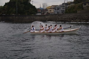 競漕(4回目) (二船祭)