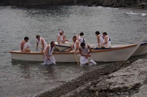 競漕(6回目) (二船祭)
