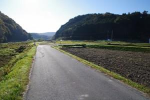 上瀬橋から塚原橋への途中