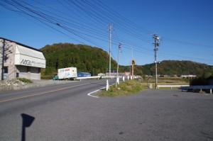 初瀬街道(国道165号線から羽根橋へ)