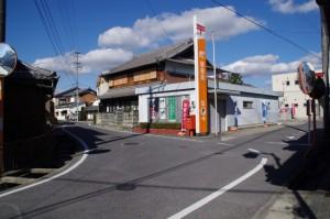 青山郵便局付近