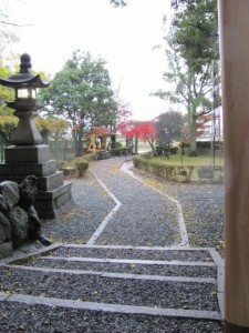 遷座祭の朝(御薗神社)