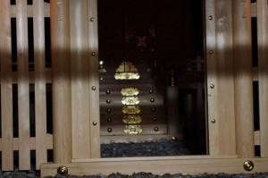 遷座祭の後(御薗神社)