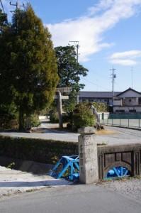 里中橋(名古須川)付近