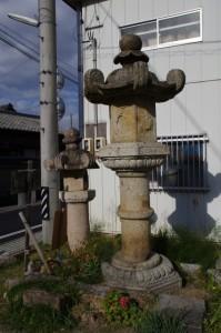 信楽寺前の石幢