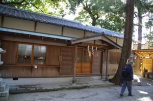 神戸神社の社務所