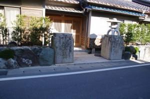 櫛田橋の親柱