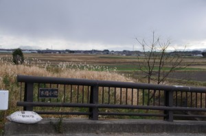 木造小橋(雲出井水)
