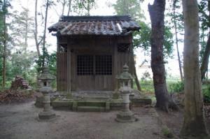 稲荷神社(木造神社)