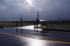 物部神社への参道入口