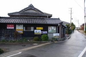 新家バス停(津市コミュニティバス)付近