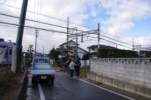 近鉄 踏切道 中川第11号