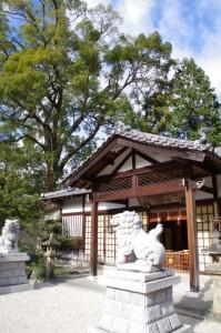 拝殿(野邊野神社)
