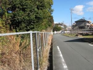 地金場橋(勢田川)へ