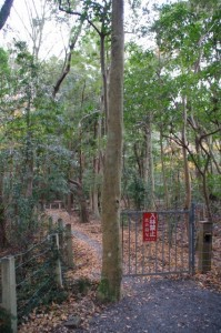 上御井神社の遥拝