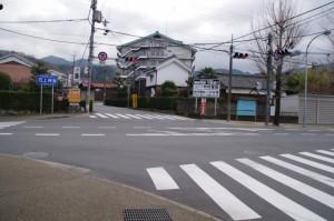 布留交差点(県道51号線)