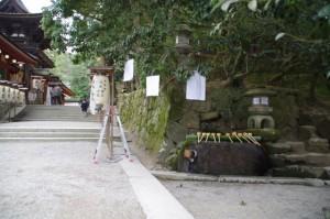 手水舎(石上神宮)
