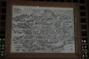内山永久寺之圖(図)(石上神宮)