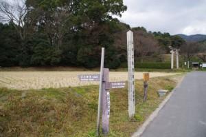 夜都伎神社付近(山の辺の道)