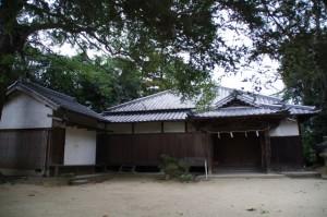社務所(夜都伎神社)