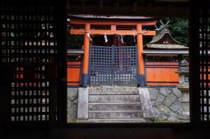 本殿(夜都伎神社)
