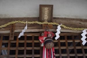 拝殿(夜都伎神社)