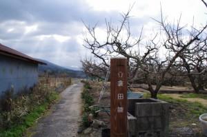五社神社前から衾田陵へ