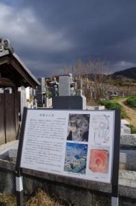 燈籠山古墳の説明板