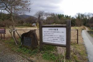 龍王山への分岐付近(山の辺の道)