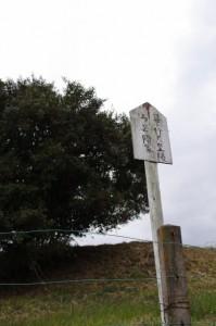景行天皇陵3号陪冢(ばいちょう)