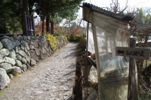 桧原神社前(山の辺の道)