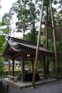 手水舎(狹井神社)