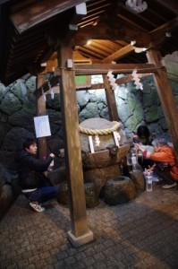 御神水(狹井神社)
