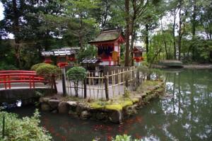 鎮女池(しずめいけ)(狹井神社)