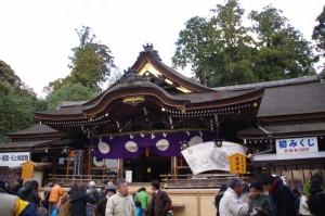 拝殿(大神神社)