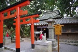 成願稲荷神社(大神神社末社)