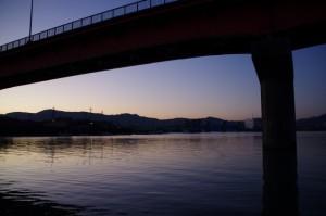 神社港(初辰の早朝)