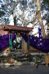 御頭神事(八玉神社)有滝町