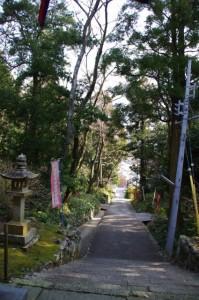 太江寺 参道