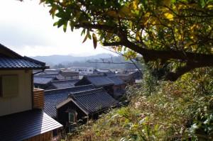 太江寺参道から望む栄野神社方向