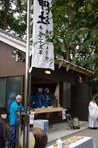 甘酒直会(櫲樟尾神社)