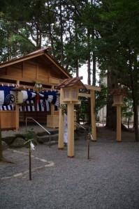 拝殿(櫲樟尾神社)