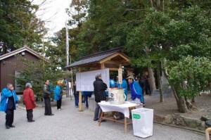 ふるまい(櫲樟尾神社)