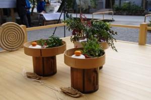 萬歳楽で使用される「由利」(櫲樟尾神社)