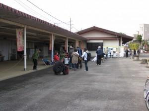 ゴール受付(五十鈴川駅)