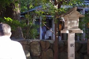 御頭神事祭(須原大社)