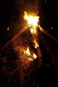 御頭神事(高向大社) - 打祭り